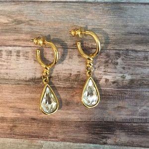 Stunning vintage drop earrings